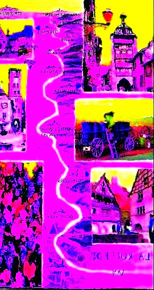 Les routes du vins en Alsace